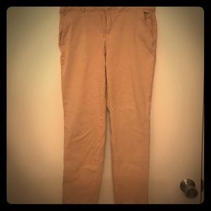 Banana Republic Sloan Fit khaki chinos